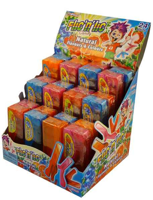 Flic-N-Lic Candy, by Candy Brokers,  and more Confectionery at The Professors Online Lolly Shop. (Image Number :1999)