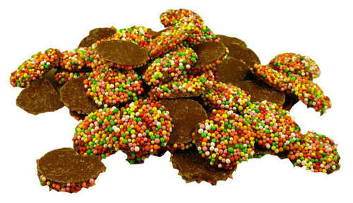 Freckles, by Allens Confectionery,  and more Confectionery at The Professors Online Lolly Shop. (Image Number :2000)