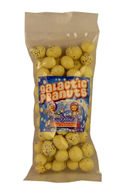 Galactic Peanuts, by The Professors Tasty Technology,  and more Confectionery at The Professors Online Lolly Shop. (Image Number :2286)