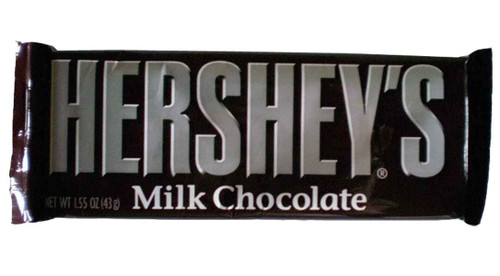 Hershey Milk Chocolate Bar, by Hersheys,  and more Confectionery at The Professors Online Lolly Shop. (Image Number :2008)