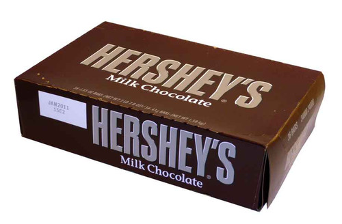 Hersheys Milk Chocolate Bars, by Hersheys,  and more Confectionery at The Professors Online Lolly Shop. (Image Number :2011)