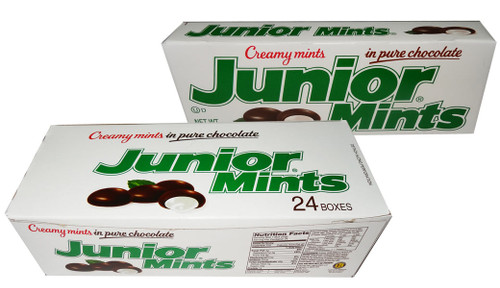 Junior Mints, by Tootsie Roll Industries,  and more Confectionery at The Professors Online Lolly Shop. (Image Number :7700)