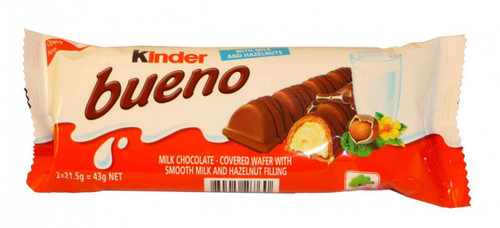 Kinder Bueno, by Kinder/Kinder Bueno,  and more Confectionery at The Professors Online Lolly Shop. (Image Number :2039)