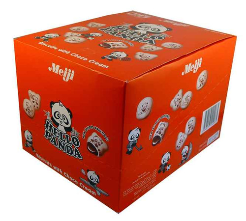 Meiji Hello Panda Choco Creams and more Snack Foods at The Professors Online Lolly Shop. (Image Number :2060)