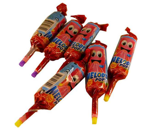 Chupa Chup Melody Pops, by Perfetti Van Melle,  and more Confectionery at The Professors Online Lolly Shop. (Image Number :2064)