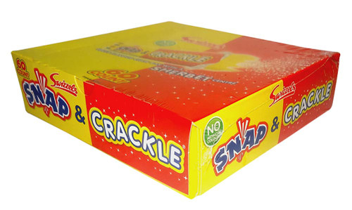 Swizzels Snap and Crackle, by Swizzels Matlow,  and more Confectionery at The Professors Online Lolly Shop. (Image Number :9776)