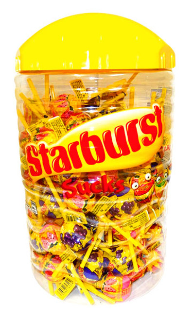 Starburst Sucks -, by Starburst,  and more Confectionery at The Professors Online Lolly Shop. (Image Number :14254)