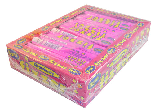Beacon Fizzers - Strawberry, by Beacon,  and more Confectionery at The Professors Online Lolly Shop. (Image Number :3657)