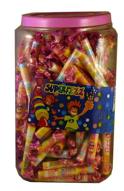 Super Fizz, by Candy Brokers,  and more Confectionery at The Professors Online Lolly Shop. (Image Number :2141)