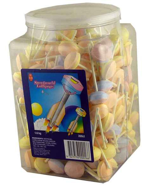 Sweetworld Lollipops, by Sweetworld/Universal Candy,  and more Confectionery at The Professors Online Lolly Shop. (Image Number :2145)
