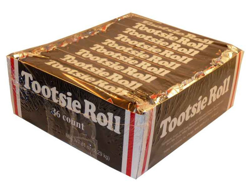 Tootsie Roll, by Tootsie Roll Industries,  and more Confectionery at The Professors Online Lolly Shop. (Image Number :2167)