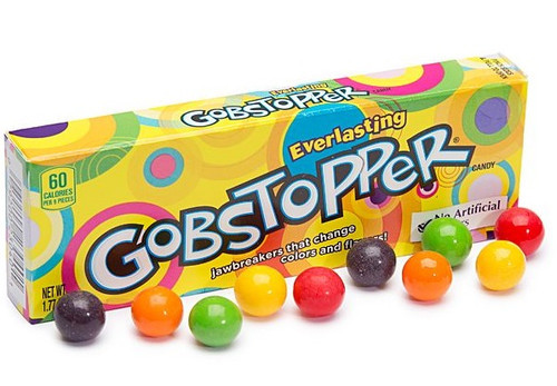Gobstopper - Everlasting, by Wonka,  and more Confectionery at The Professors Online Lolly Shop. (Image Number :15365)