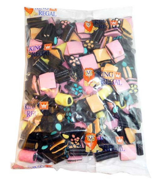 King Regal Licorice Allsorts, by King Regal,  and more Confectionery at The Professors Online Lolly Shop. (Image Number :2684)