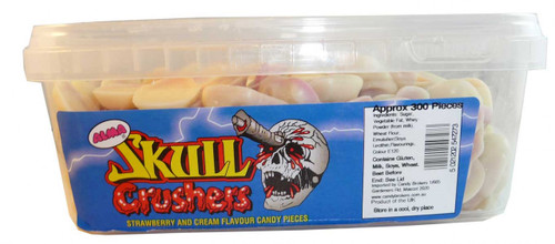 Skull Crushers, by Candy Brokers,  and more Confectionery at The Professors Online Lolly Shop. (Image Number :2577)