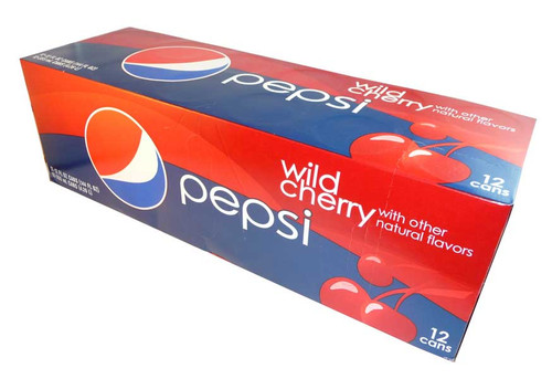 Pepsi - Wild Cherry, by Pepsi,  and more Beverages at The Professors Online Lolly Shop. (Image Number :2715)