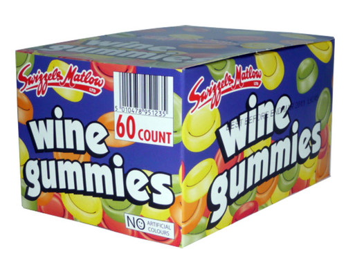 Wine Gummies, by Swizzels Matlow,  and more Confectionery at The Professors Online Lolly Shop. (Image Number :2789)