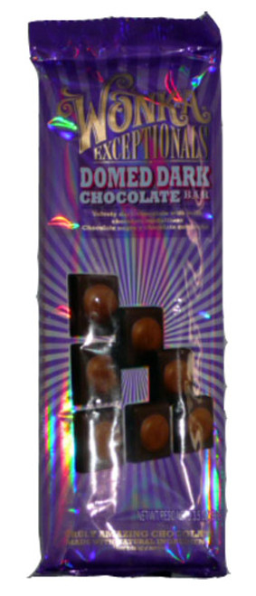 Wonka Exceptionals - Domed Dark Chocolate Bar, by Wonka,  and more Confectionery at The Professors Online Lolly Shop. (Image Number :2796)