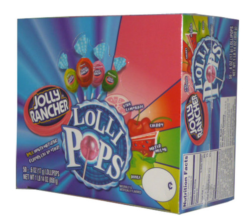 Jolly Rancher Lollipops, by Jolly Rancher,  and more Confectionery at The Professors Online Lolly Shop. (Image Number :2800)
