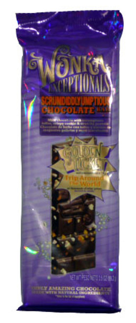 Wonka Exceptionals - Scrumdiddlyumptious Chocolate Bar, by Wonka,  and more Confectionery at The Professors Online Lolly Shop. (Image Number :2824)