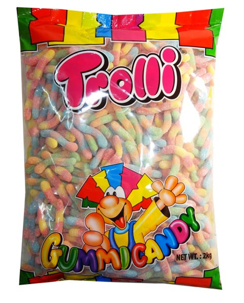 Trolli Brite Crawlers, by Trolli,  and more Confectionery at The Professors Online Lolly Shop. (Image Number :7881)