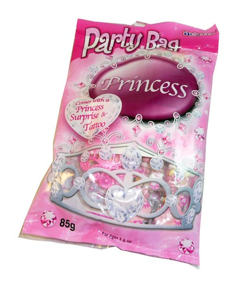 Au some Princess Party Bag, by Candy Brokers,  and more Confectionery at The Professors Online Lolly Shop. (Image Number :3063)