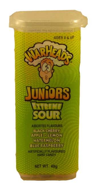 Warheads Extreme Sour Juniors, by Warheads,  and more Confectionery at The Professors Online Lolly Shop. (Image Number :3144)