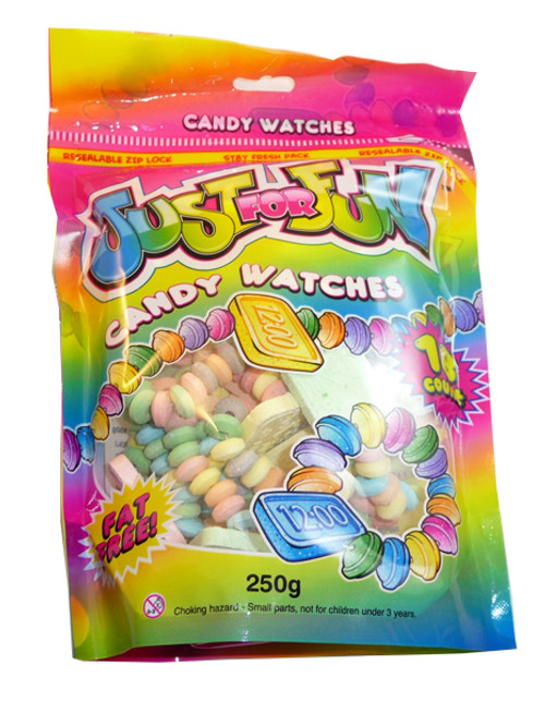 Just For Fun - Watches, by Morris National,  and more Confectionery at The Professors Online Lolly Shop. (Image Number :3156)