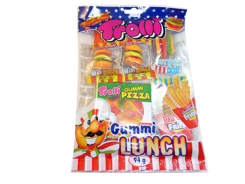 Trolli Gummi Lunch, by Trolli,  and more Confectionery at The Professors Online Lolly Shop. (Image Number :3297)