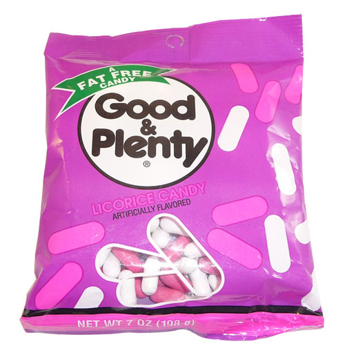 Good and Plenty Licorice Candy, by Hersheys,  and more Confectionery at The Professors Online Lolly Shop. (Image Number :3541)