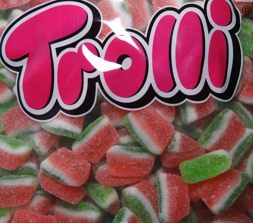 Trolli Watermelon Slices, by Trolli,  and more Confectionery at The Professors Online Lolly Shop. (Image Number :7878)