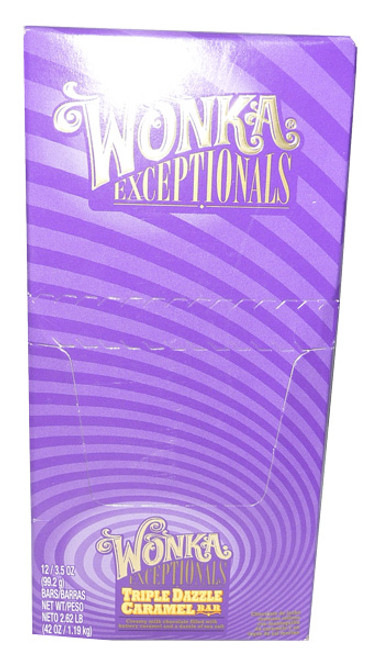 Wonka Exceptionals - Triple Dazzle Bar, by Wonka,  and more Confectionery at The Professors Online Lolly Shop. (Image Number :3730)