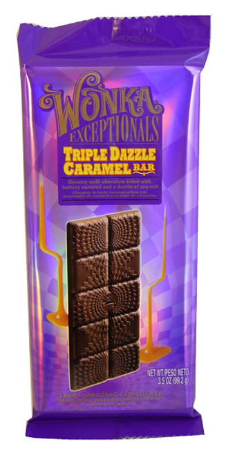 Wonka Exceptionals - Triple Dazzle Bar, by Wonka,  and more Confectionery at The Professors Online Lolly Shop. (Image Number :3731)