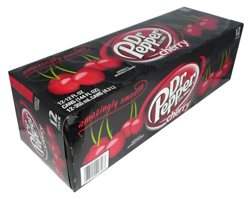 Dr. Pepper - Cherry, by Dr Pepper,  and more Beverages at The Professors Online Lolly Shop. (Image Number :3664)