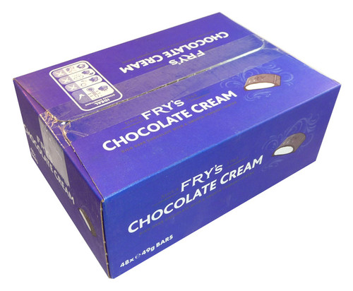 Fry s Chocolate Cream, by Cadbury,  and more Confectionery at The Professors Online Lolly Shop. (Image Number :3447)