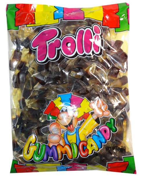 Trolli Cola Bottles, Oiled, by Trolli,  and more Confectionery at The Professors Online Lolly Shop. (Image Number :7940)