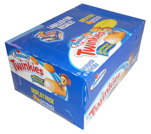 Hostess Twinkies, by Hostess Twinkies,  and more Confectionery at The Professors Online Lolly Shop. (Image Number :3726)
