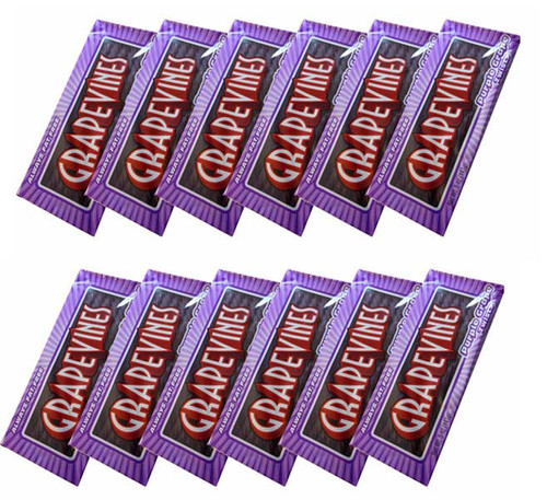 Grape Vines - Purple Grape Twists, by American Licorice Co,  and more Confectionery at The Professors Online Lolly Shop. (Image Number :6156)