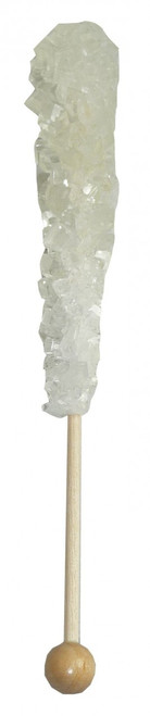 Espeez Rock Candy Crystal Sticks - White, by Espeez,  and more Confectionery at The Professors Online Lolly Shop. (Image Number :3667)