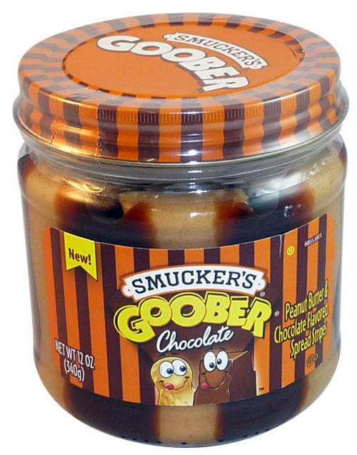 Smucker s Goober - Chocolate, by Smuckers Goober,  and more Snack Foods at The Professors Online Lolly Shop. (Image Number :4117)