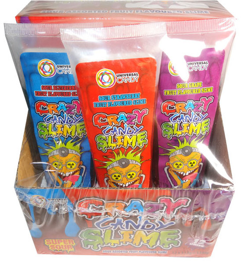 Crazy Candy Slime, by Universal Candy,  and more Confectionery at The Professors Online Lolly Shop. (Image Number :6867)