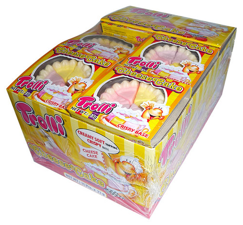 Trolli Cheesecake, by Trolli,  and more Confectionery at The Professors Online Lolly Shop. (Image Number :4207)