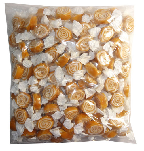 Toffee Whirls, by Kingsway/Other,  and more Confectionery at The Professors Online Lolly Shop. (Image Number :7919)