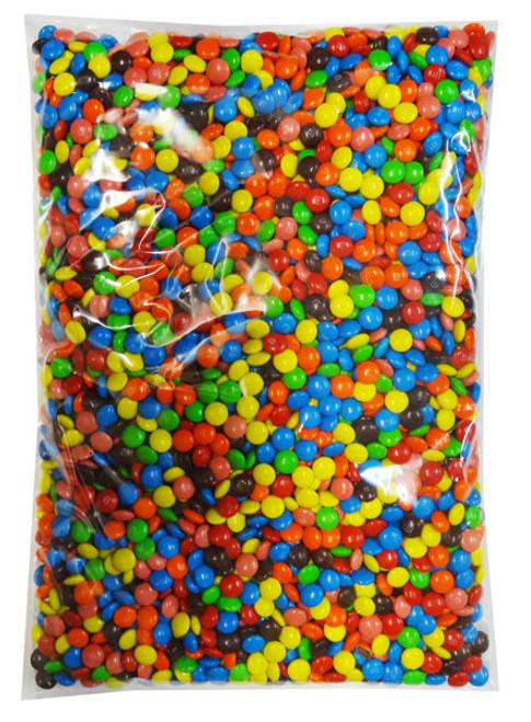 M&M Mini Milk Chocolate, by Mars,  and more Confectionery at The Professors Online Lolly Shop. (Image Number :8286)