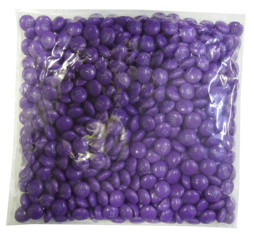 Single Colour M&M s - Purple, by Mars,  and more Confectionery at The Professors Online Lolly Shop. (Image Number :8246)