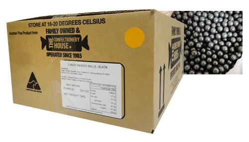 Aniseed Balls - Black (12kg box)