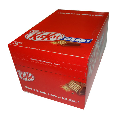 Nestle Kit Kat Chunky, by Nestle,  and more Confectionery at The Professors Online Lolly Shop. (Image Number :4888)