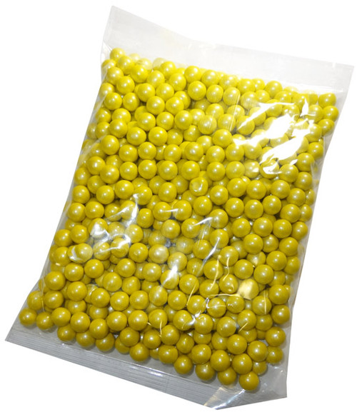 Sixlets - Shimmer Yellow, by Sixlets,  and more Confectionery at The Professors Online Lolly Shop. (Image Number :5502)