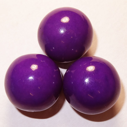 Gumballs - Purple, by Oak Leaf Confections,  and more Confectionery at The Professors Online Lolly Shop. (Image Number :5290)