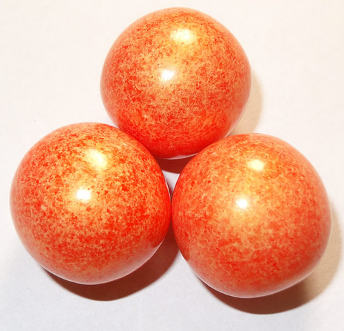 Gumballs - Shimmer Orange, by Oak Leaf Confections,  and more Confectionery at The Professors Online Lolly Shop. (Image Number :5287)