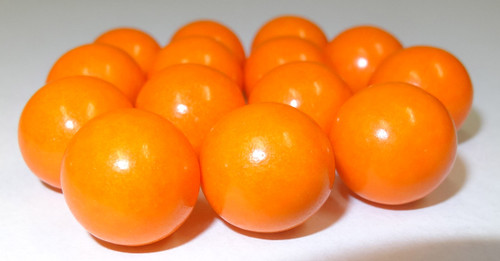 Fruit Choc Balls - Orange, by Confectionery House,  and more Confectionery at The Professors Online Lolly Shop. (Image Number :5228)